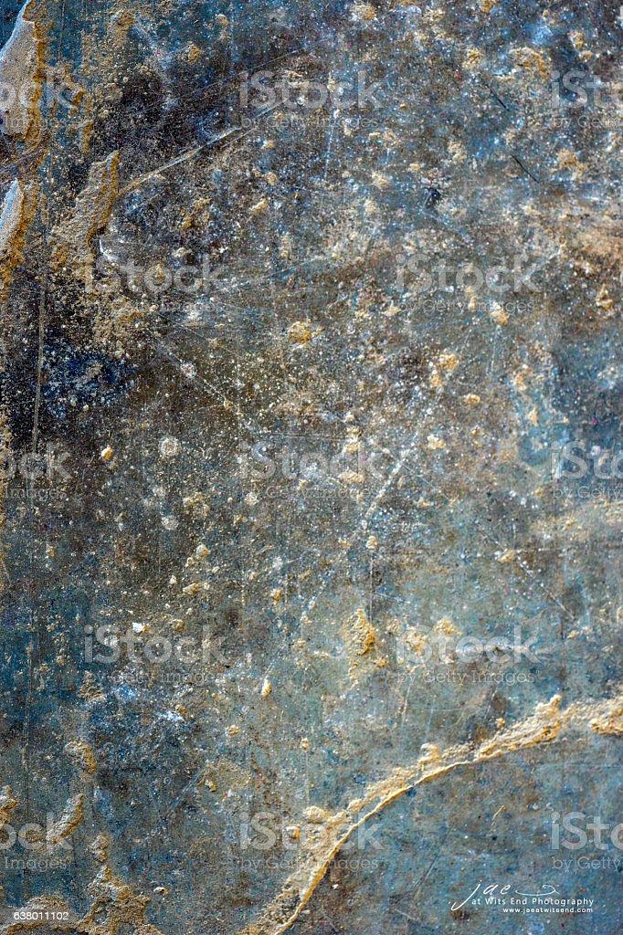 Art Blue Metal 102 stock photo
