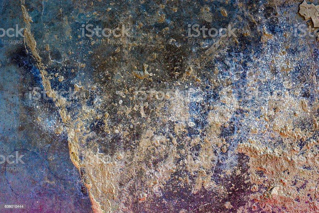 Art Blue Metal 104 stock photo