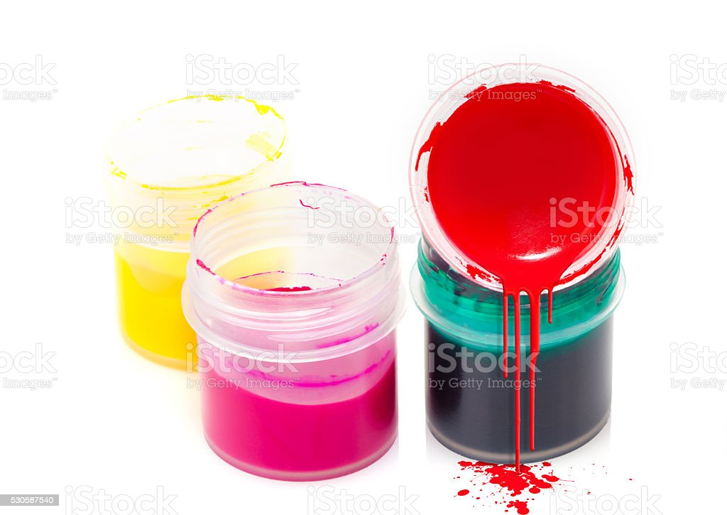 art colorful paint stock photo