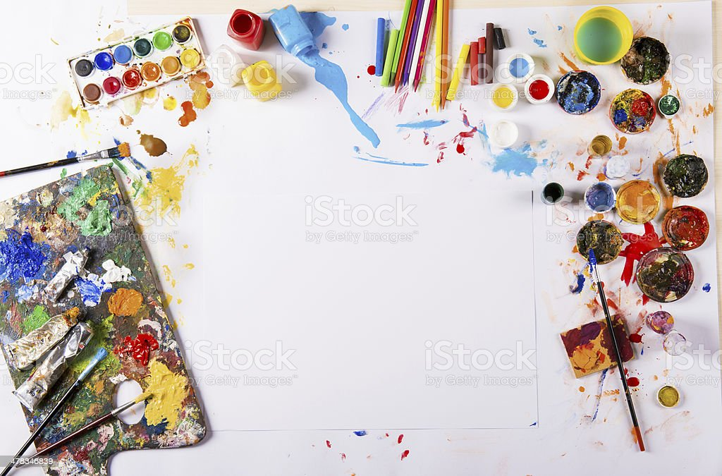Art concept stock photo