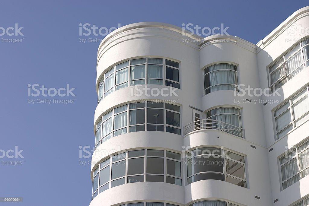 Art Deco Apartment Building #2 royalty-free stock photo
