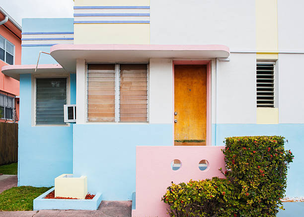 4 005 Art Deco Home Exterior Stock Photos Pictures Royalty Free Images Istock