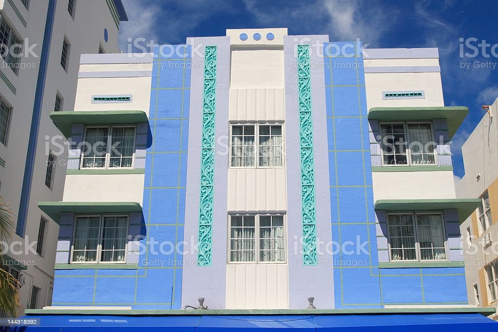 Art Deco Architecture royalty-free stock photo