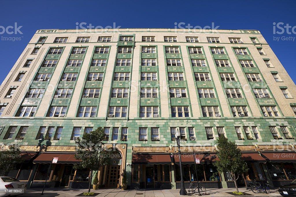 Art Deco Building in Chicago stock photo