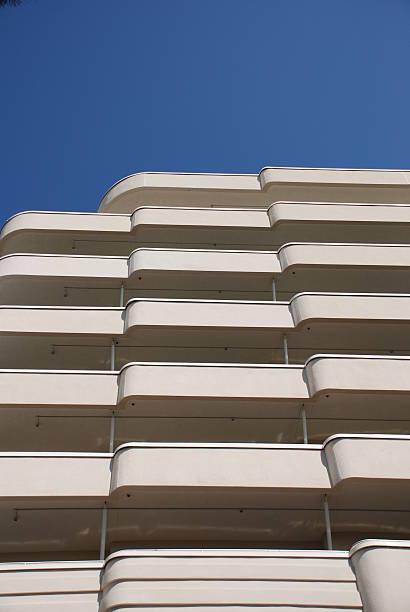 Art Deco Building stock photo
