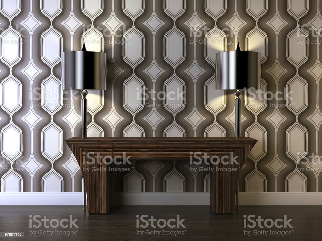 Art Deco composition royalty-free stock photo