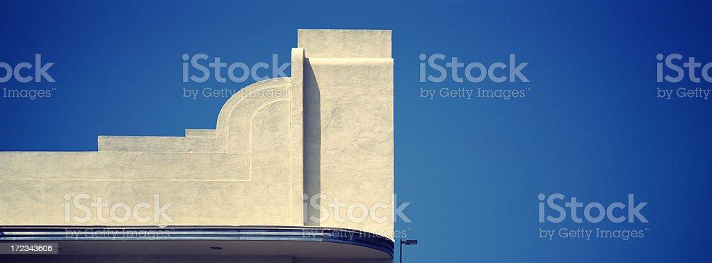 Art Deco Corner stock photo