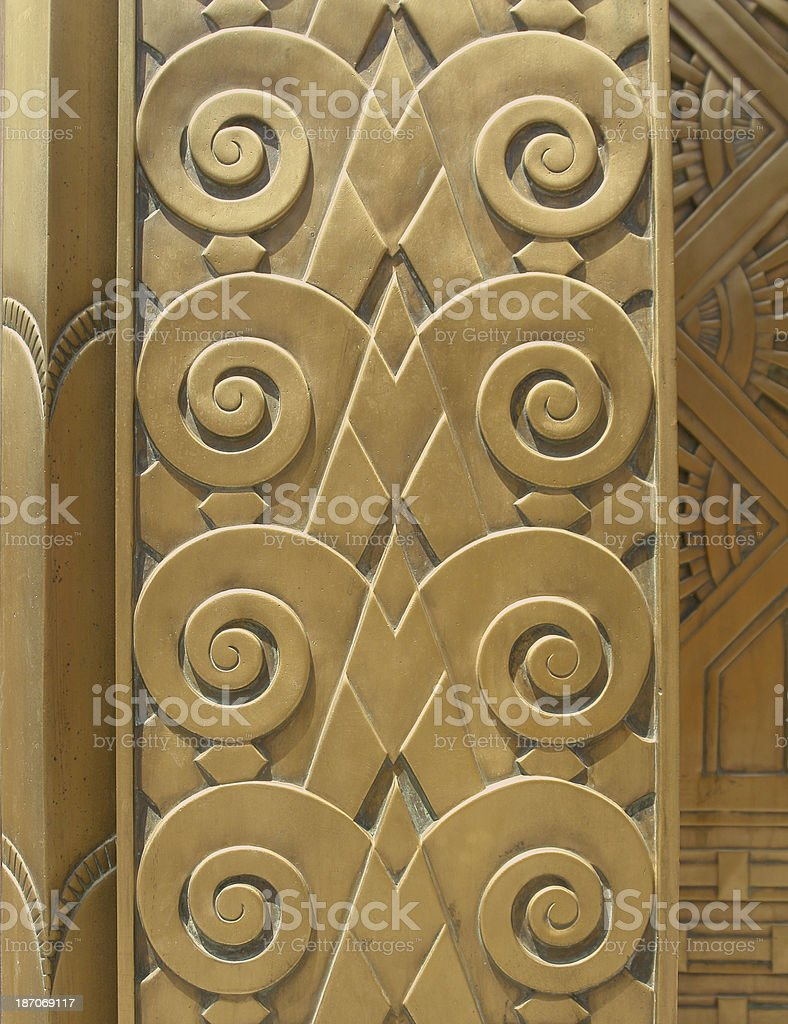 Art Deco Design royalty-free stock photo