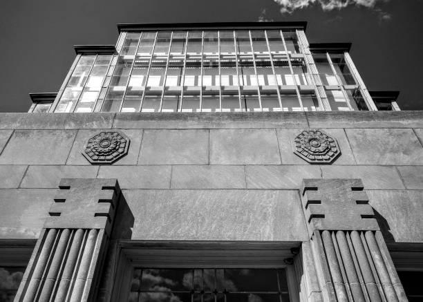 Art-Deco-Eingang des Jewel-Box – Foto