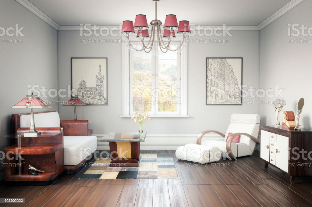 Art deco home interior royalty free stock photo only from istock