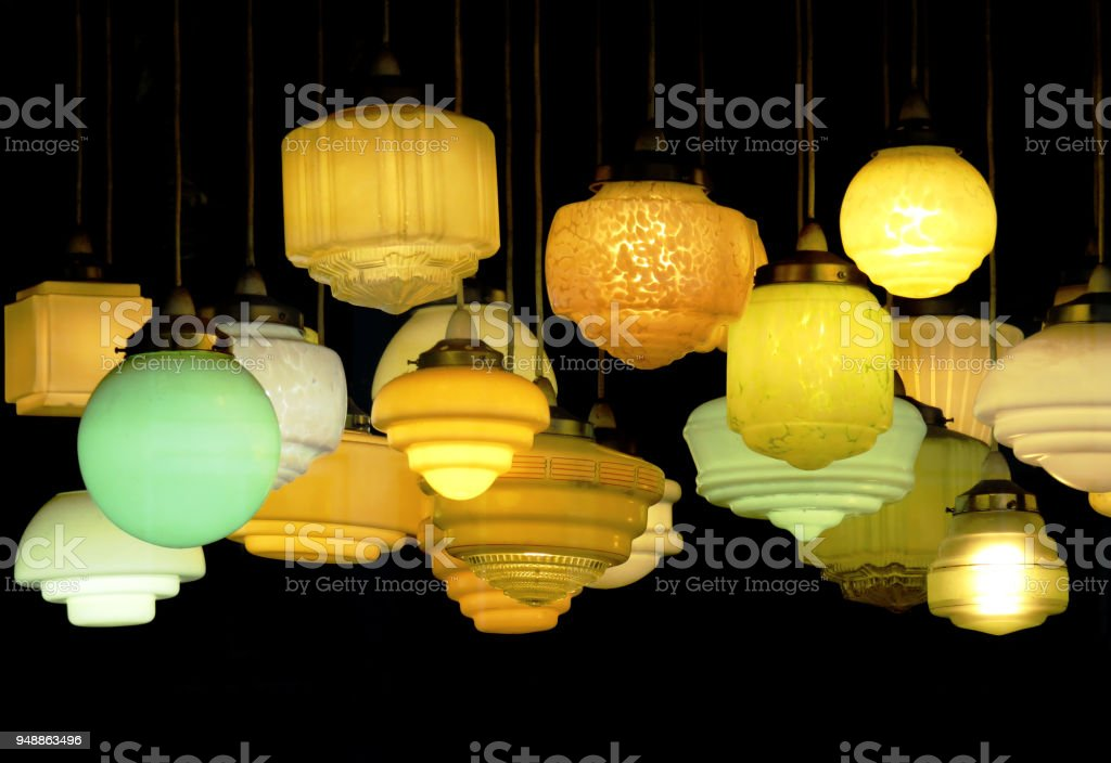 Art Deco Lights Stock Photo Download Image Now Istock