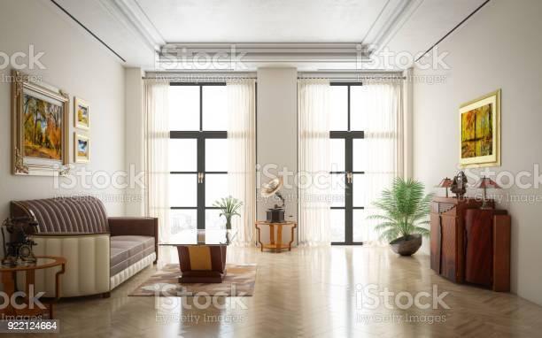 Art Deco Luxe Woonkamer Stockfoto En Meer Beelden Van Appartement Istock