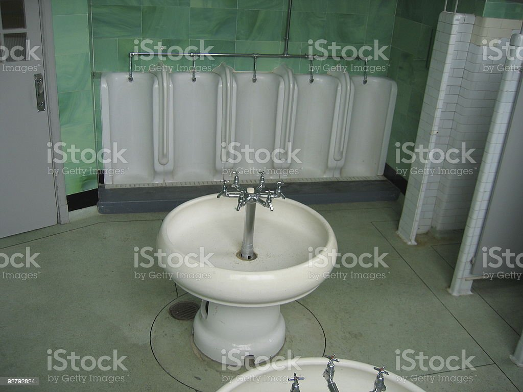 Art deco mens toilet stock photo more pictures of istock
