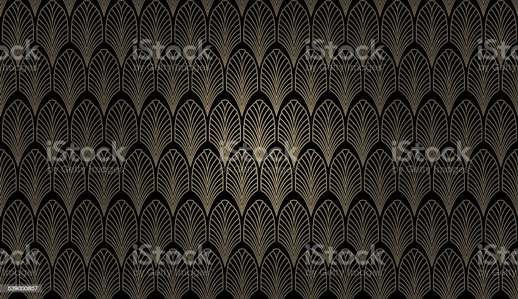 Art Deco Wall stock photo