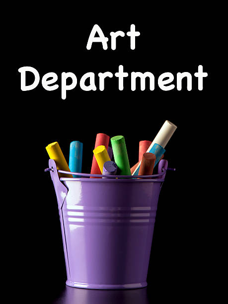 Art Department Sign stock photo