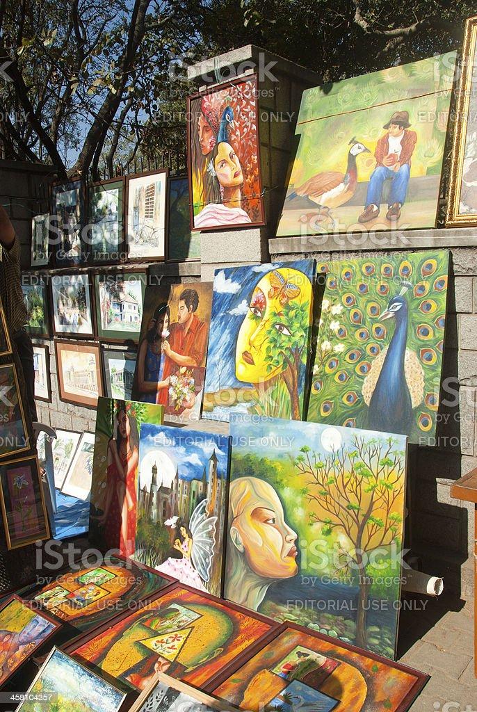 Art Fair royalty-free stock photo