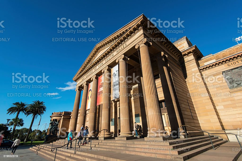 Art Gallery of New South Wales in Sydney, Australia stock photo