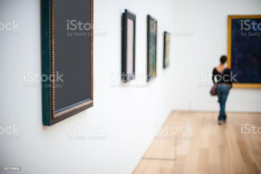 Galleria d'arte - foto stock