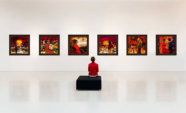 art gallery - artistic product stock photos and pictures