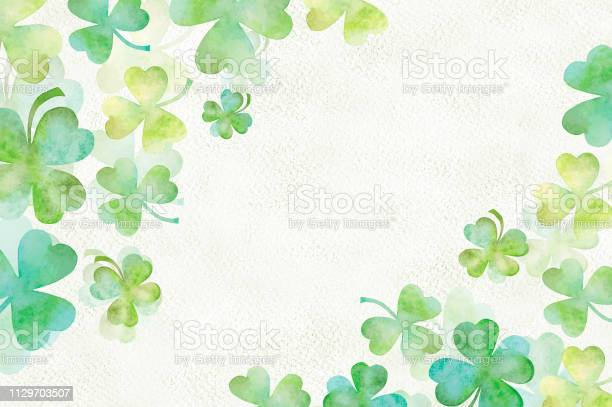 Art green clover watercolor background picture id1129703507?b=1&k=6&m=1129703507&s=612x612&h=jndkslx9n y52njdfhcx6 u7bbrmizflxhcfuztxzfs=