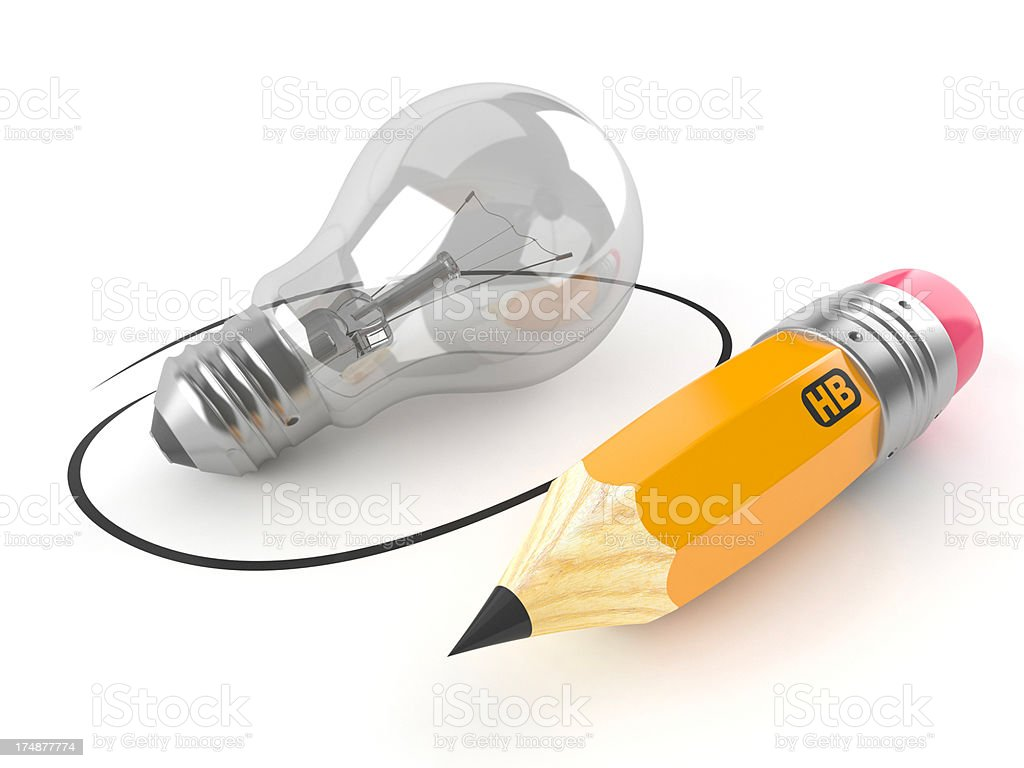 Art idea stock photo