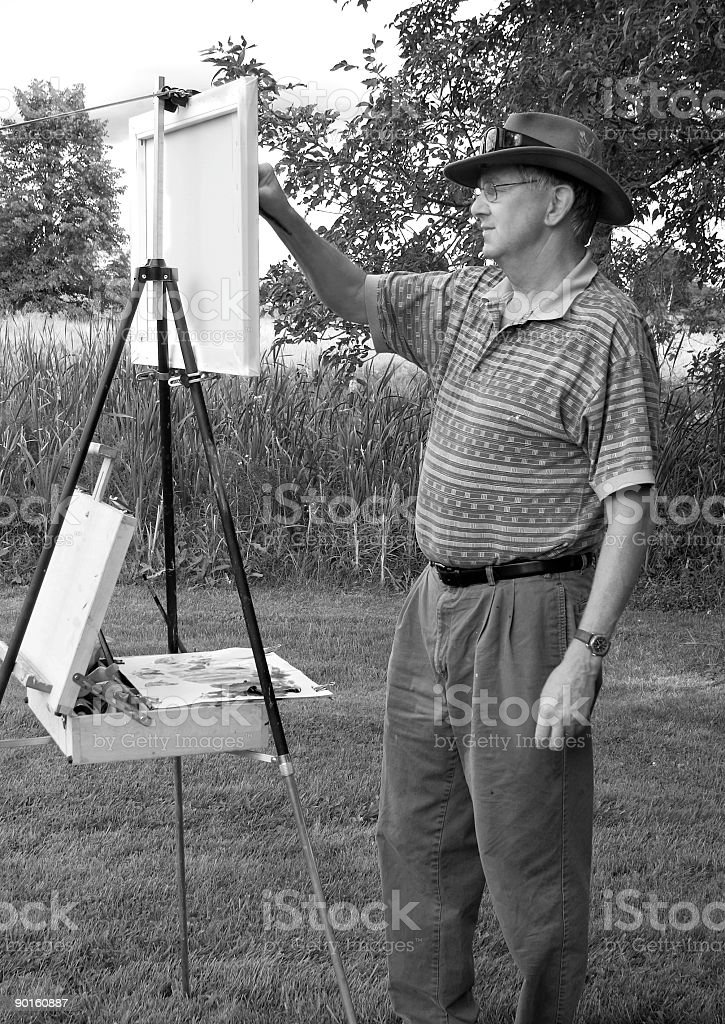 Art In Action royalty-free stock photo