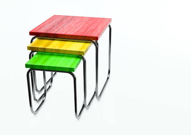 Kunst in Industrie - bauhaus-Design 3d illustration – Foto