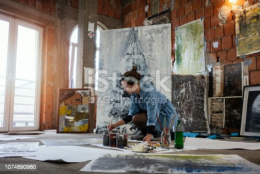 istock Art is my life 1074890980