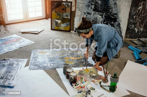 istock Art is my life 1074890988