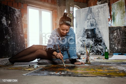 istock Art is my life 1074891264