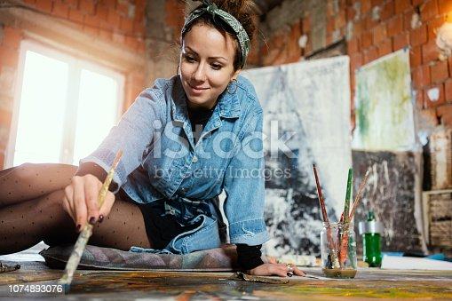 865169666 istock photo Art is my life 1074893076