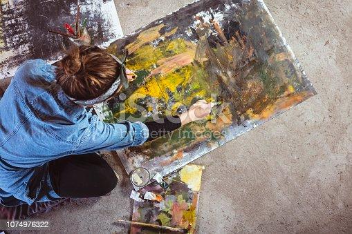 865169666 istock photo Art is my life 1074976322