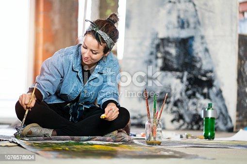 865169666 istock photo Art is my life 1076578604