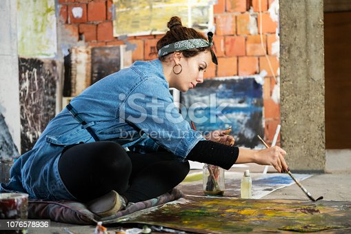 istock Art is my life 1076578936
