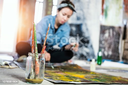 istock Art is my life 1076581804