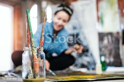 istock Art is my life 1076581852