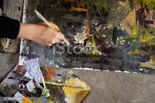 865169666 istock photo Art is my life 1076582122