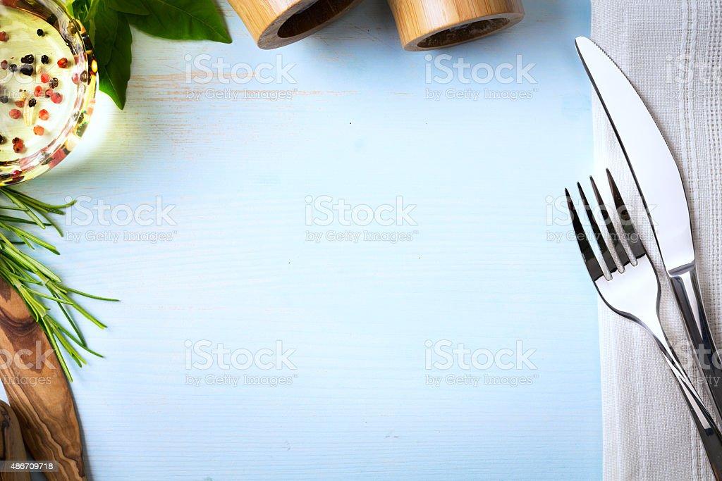 Art Italian Homemade Menu Food Background Restaurant Week