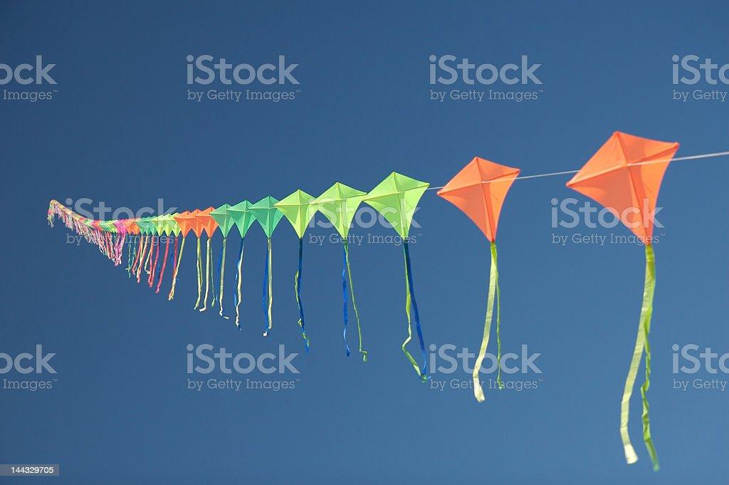 Art Kite stock photo