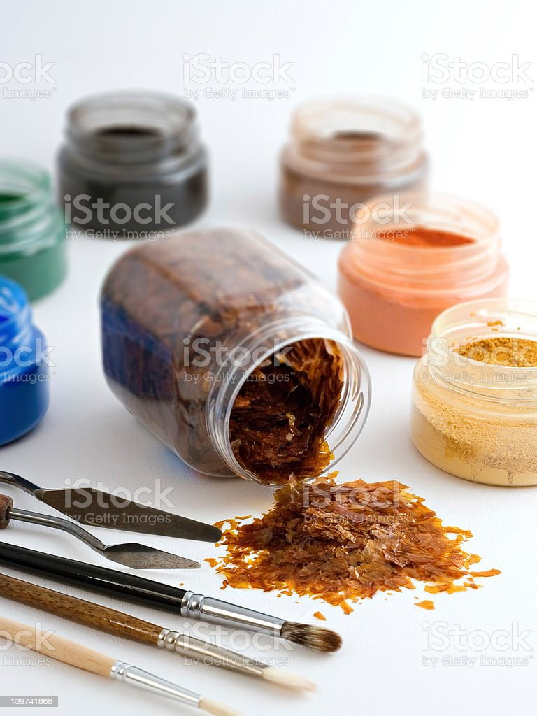Art material royalty-free stock photo