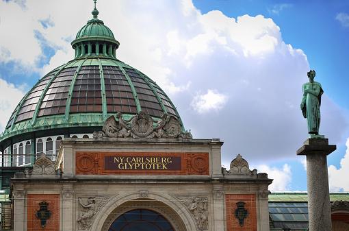 Art Museum In Copenhagen Ny Carlsberg Glyptotek - オーレスン地域のストックフォトや画像を多数ご用意