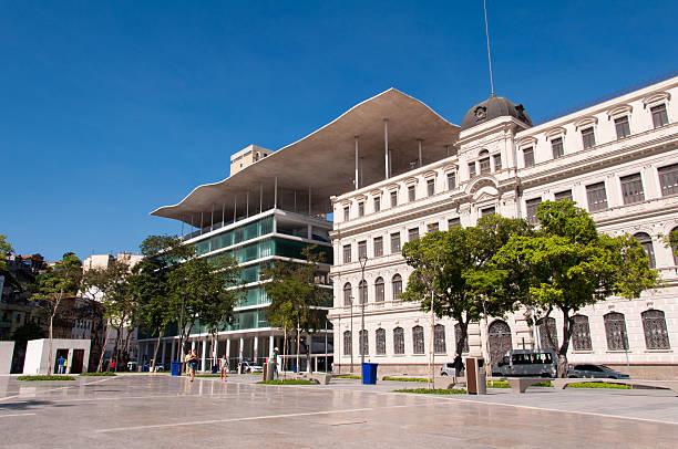 MAR Art Museum of Rio de Janeiro stock photo