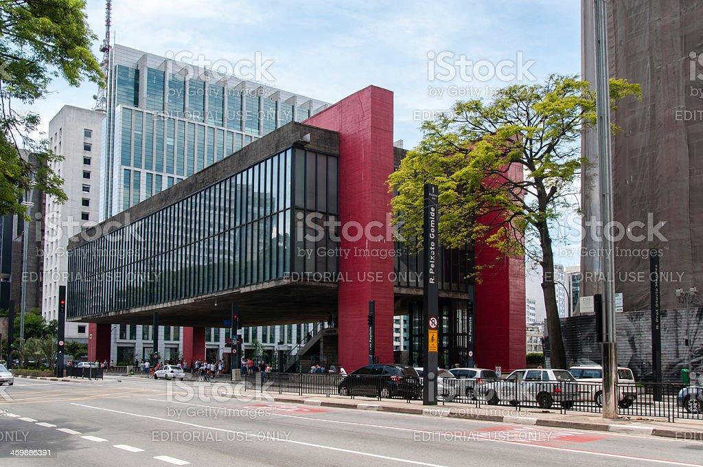 Art Museum of Sao Paulo, MASP stock photo