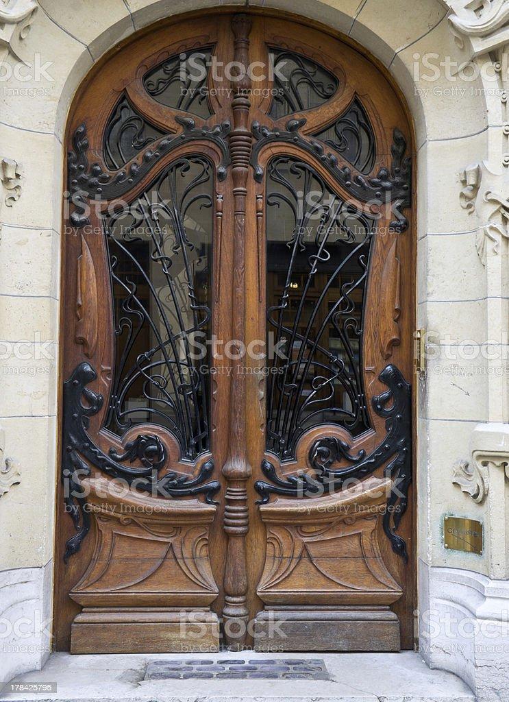 Art Nouveau Architecture: 3 Square Rapp stock photo
