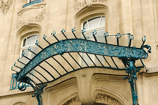 art nouveau in nancy - art nouveau stock photos and pictures