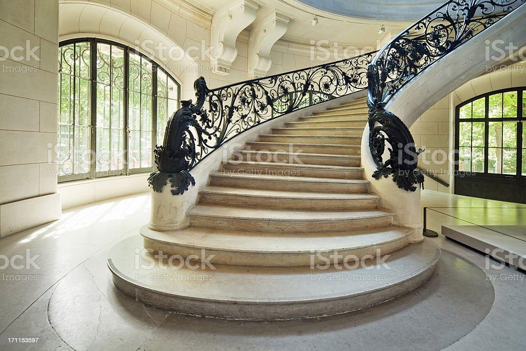 Art Nouveau  Staircase royalty-free stock photo