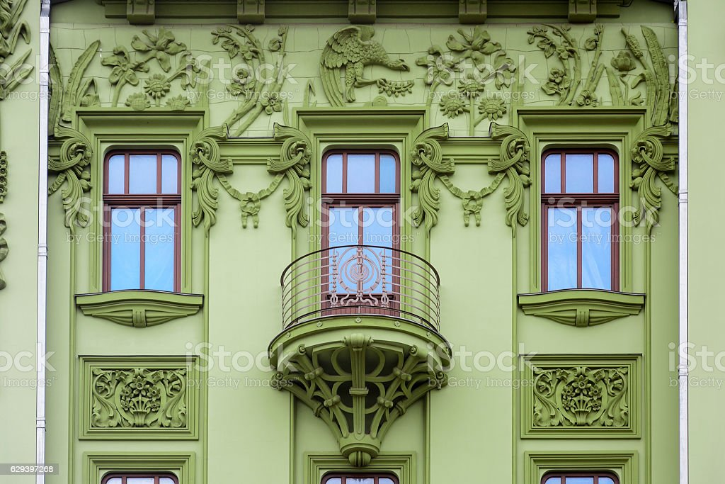 Art Nouveau. The building of hotel