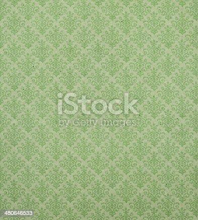 istock Art Nouveau wallpaper pattern 480646533