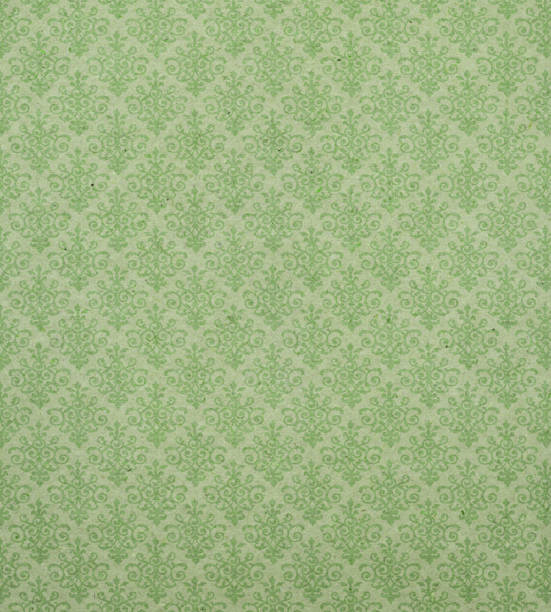 Art Nouveau wallpaper pattern Please view more retro paper backgrounds here: wallpaper sample stock pictures, royalty-free photos & images
