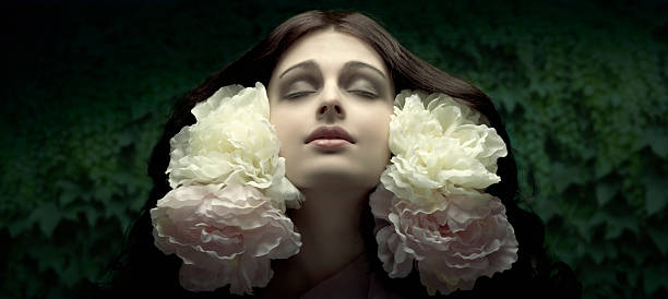 art nouveau.ophelia. - art nouveau stock photos and pictures
